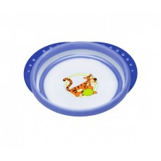 Тарелка NUK Disney Easy Learning с крышкой с 8 мес