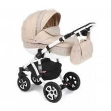 Детская коляска 3 в 1 Adamex Barletta Deluxe