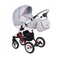 Детская коляска 3 в 1 Adamex Barletta Eco