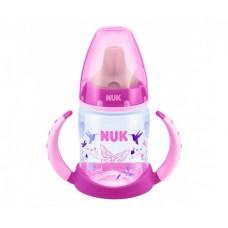 Бутылочка-поильник NUK First Choice с насадкой для питья с латексной соской с 6 мес 150 мл пластик