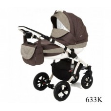 Детская коляска 2 в 1 Adamex Avila Лен