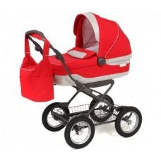 Детская коляска для новорожденного Inglesina Sofia на шасси Comfort Chrome/Slate
