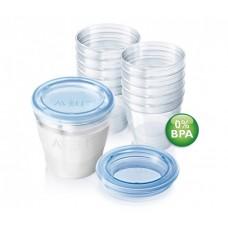 Набор контейнеров Philips Avent для хранения молока SCF612/10