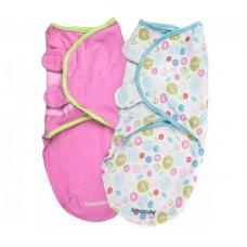 Конверт для пеленания на липучке Summer Infant SWADDLEME 70100