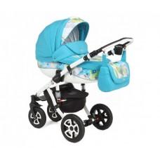 Детская коляска 3 в 1 Adamex Barletta