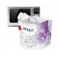 Пакеты Philips Avent для стерилизации в микроволновой печи