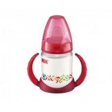 Бутылочка-поильник NUK First Choice с насадкой для питья с силиконовой соской с 6 мес 150 мл пластик