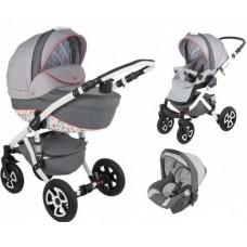 Детская коляска 3 в 1 Adamex Barletta Dream collection