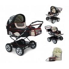 Детская коляска для двойни 2 в 1 Reindeer Twin